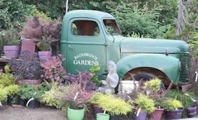bainbridge gardens truck display